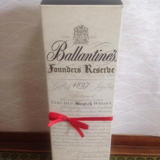 バランタインカシミヤ(BALLANTYNE CASHMERE)のバランタイン Founders Reserbe 1827 750ml 未開封(ウイスキー)