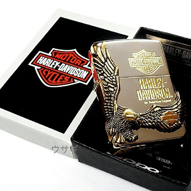 Harley Davidson(ハーレーダビッドソン)の送料無料☆zippo☆日本限定:HARLEY-DAVIDSON☆イーグル☆SG メンズのファッション小物(タバコグッズ)の商品写真
