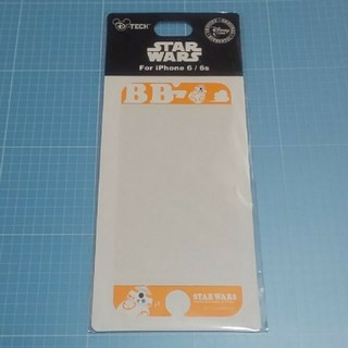 ディズニー(Disney)のiPhone6/6s専用画面保護シール「スター・ウォーズ」BB-8(保護フィルム)