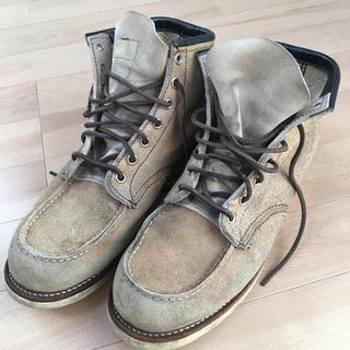 レッドウィング(REDWING)のRED WINGアイリッシュセッターベージュ スエードブーツ 28cm(ブーツ)