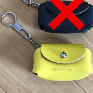 エンダースキーマ(Hender Scheme)のエンダースキーマ コインキーホルダー 黄色(キーホルダー)