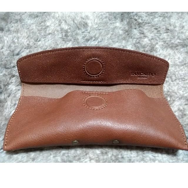 Zoff(ゾフ)の新品 未使用品 asoboze アソボーゼ メガネケース ブラウン メンズのファッション小物(サングラス/メガネ)の商品写真