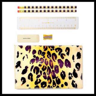 ケイトスペードニューヨーク(kate spade new york)の【新品】Kate Spade leopard pencil pouch (その他)