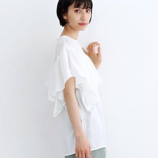 メルロー(merlot)の新品 メルロー カットソー(カットソー(半袖/袖なし))