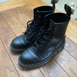 ドクターマーチン(Dr.Martens)のドクターマーチン 8ホール ブラック UK6 25㎝相当(ブーツ)