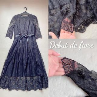 デビュードフィオレ(Debut de Fiore)のデビュードフィオレ ドレス ワンピース(ミディアムドレス)