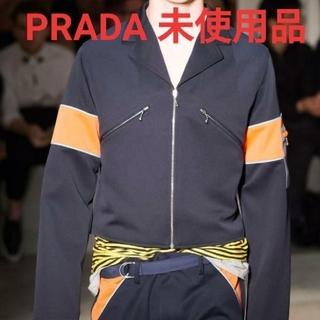 プラダ(PRADA)の未使用定価20万 PRADA メンズコレクションジャケット(テーラードジャケット)