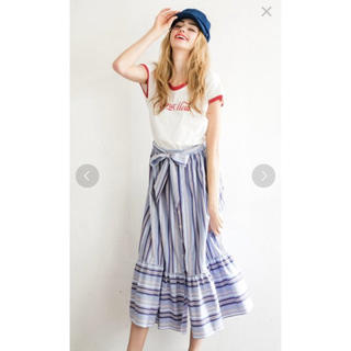 ニーナミュウ(Nina mew)のストライプロングスカート(ロングスカート)