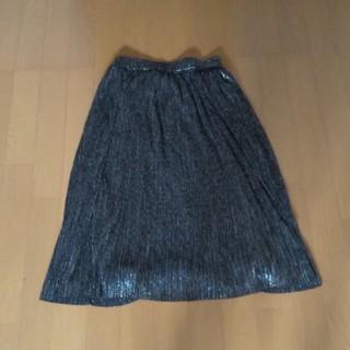 ザラ(ZARA)のZARA キラキラスカート(ひざ丈スカート)