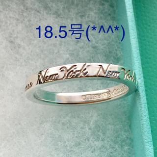 ティファニー(Tiffany & Co.)のganden52様専用 ティファニーノーツリング 18.5号 美品です(リング(指輪))