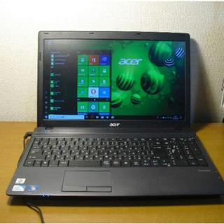 エイサー(Acer)のノートパソコンWindows 10(ノートPC)
