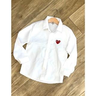 韓国子供服 おしゃれ長袖シャツ(ブラウス)