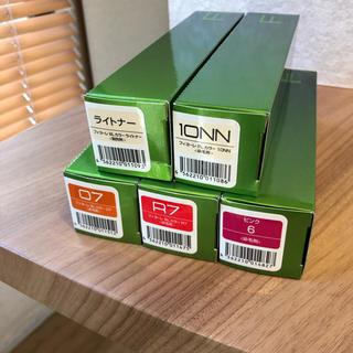 フィヨーレ BLカラー 染毛剤 5本セット オレンジ レッド ピンク ライトナー(カラーリング剤)