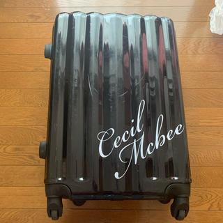 セシルマクビー(CECIL McBEE)のスーツケース キャリーケース(スーツケース/キャリーバッグ)