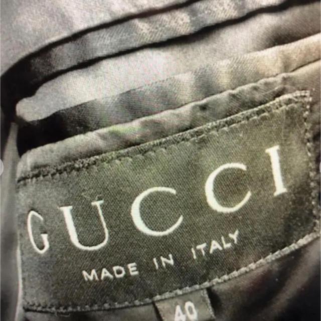 Gucci(グッチ)のGUCCI カシミア 100% チェスターコート レディースのジャケット/アウター(チェスターコート)の商品写真