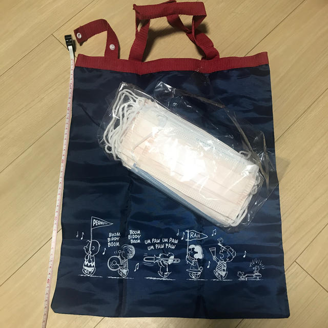 防塵マスク 規格 厚生労働省 測定器 | SNOOPY - スヌーピーSNOOPYエコバッグ マスク10枚おまけ付の通販 by FUYU's shop