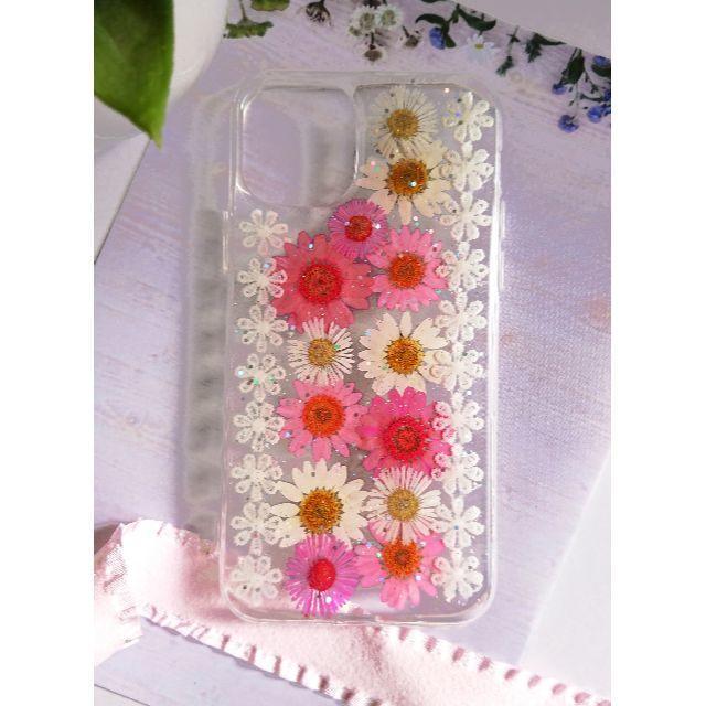押し花iPhoneケース 0002 スマホケース iPhone11Proの通販 by rosetta's shop|ラクマ