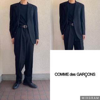 コムデギャルソン(COMME des GARCONS)の極上 comme des garcons homme セットアップ  ブラック(セットアップ)