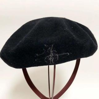 Vivienne Westwood - ベレー帽 黒 ヴィヴィアンウエストウッド