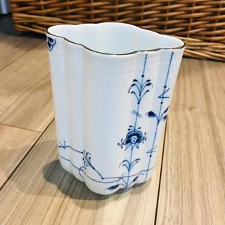 ロイヤルコペンハーゲン(ROYAL COPENHAGEN)のROYALCOPENHAGEN 花瓶 ブルーフラワーベース(花瓶)