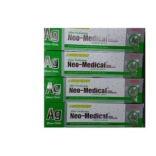 新品 ネオメディカル 4本セット 銀ナノ 歯磨き粉 165g(歯磨き粉)