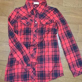 バイバイ(ByeBye)のByeBye 赤チェックシャツ(シャツ/ブラウス(長袖/七分))
