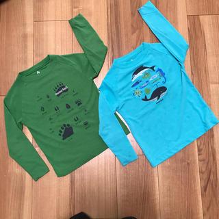 モンベル(mont bell)のmont-bell 男の子 長袖2枚セット 100cm(Tシャツ/カットソー)