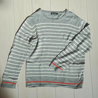 ビームス(BEAMS)の【BEAMS】ボーダーカットソー(Tシャツ/カットソー(七分/長袖))