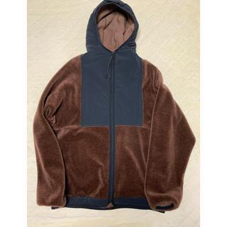 サイ(Scye)のScye Faux Fur Fleece Zip Up Hoodie パーカー(パーカー)