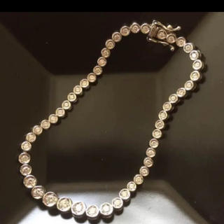 ジュエリーマキ(ジュエリーマキ)のプラチナ ダイヤモンド テニスブレスレット(ブレスレット/バングル)