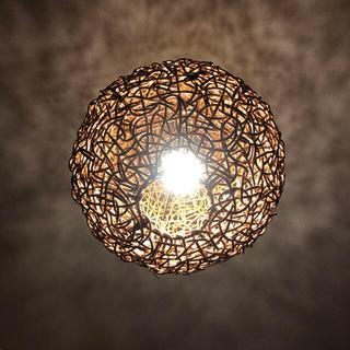 アクタス(ACTUS)の天井 照明 天然木 アジアン 球体 (天井照明)
