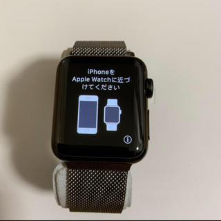 アップルウォッチ(Apple Watch)のApple watch 38mm 初代(腕時計(デジタル))