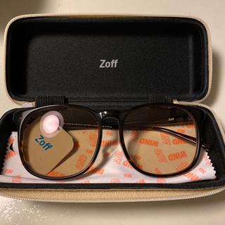 ゾフ(Zoff)のZoff×WIND AND SEA brown(サングラス/メガネ)