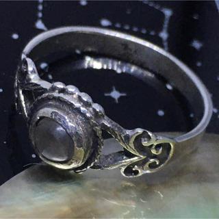 天然石リングSILVER925 シルバー925 14号指輪ムーンストーンギフト(リング(指輪))