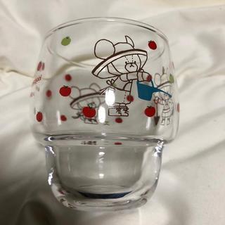 クマノガッコウ(くまのがっこう)のくまのがっこうガラスマグカップ(グラス/カップ)