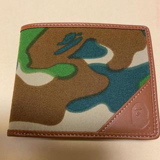 アベイシングエイプ(A BATHING APE)のA BATHING APE 二つ折 財布(折り財布)