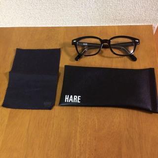 ハレ(HARE)の☆HARE 黒縁伊達眼鏡(サングラス/メガネ)