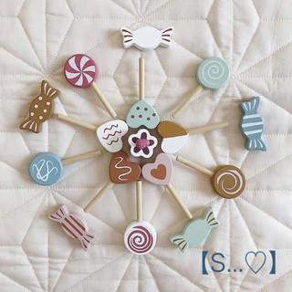 プティマイン(petit main)の北欧 木製おもちゃ キャンディセット(知育玩具)