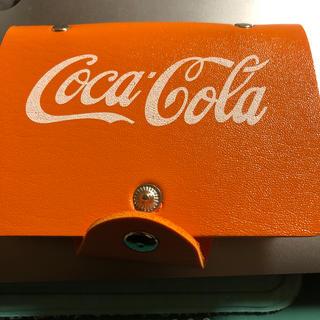 コカコーラ(コカ・コーラ)のカードホルダーケース コカコーラ(ノベルティグッズ)
