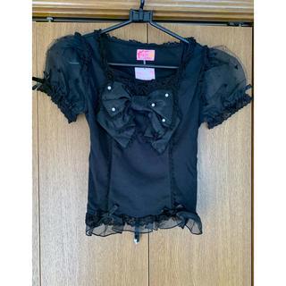 アンジェリックプリティー(Angelic Pretty)のAPパフ袖カットソー(カットソー(半袖/袖なし))