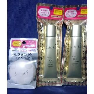ロートセイヤク(ロート製薬)の3点セット SUGAO DDクリーム & シフォン感パウダー(その他)