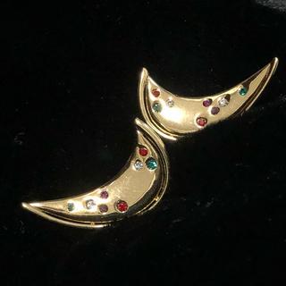 アクセサリーズブラッサム(Accessories Blossom)のVINTAGE EARRINGS ヴィンテージ イヤリング 月(イヤリング)