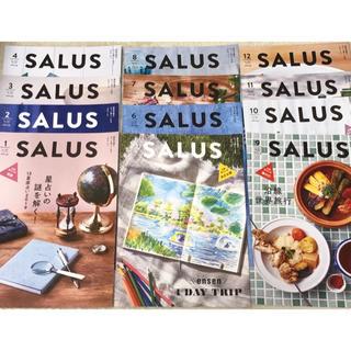 SALUS☆サルース☆東急沿線情報誌☆2019年12冊☆1年分(アート/エンタメ/ホビー)