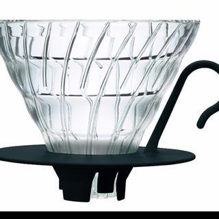 ハリオ(HARIO)のHARIO (ハリオ) V60 耐熱ガラス 透過 コーヒードリッパー 1~4杯用(その他)