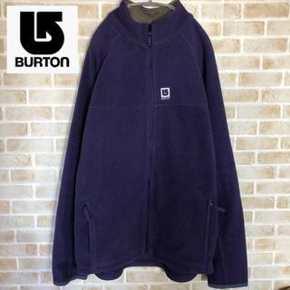 バートン(BURTON)の【BURTON MEDIUM】フリース ジップ アウター Mサイズ(ブルゾン)