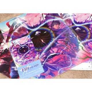 Fate  劇場版 前売り券 特典クリアファイル 第3弾(クリアファイル)