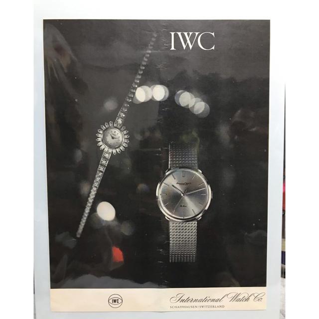 IWC 時計ポスター インテリアの通販