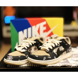ナイキ(NIKE)のTRAVIS SCOTT NIKE SB DUNK QS 27cm(スニーカー)