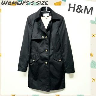 エイチアンドエム(H&M)の◇H&M◇トレンチコート スプリングコート レディースSサイズ相当(スプリングコート)