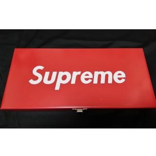シュプリーム(Supreme)の【新品】メタルケース ツールボックス スチール製(ケース/ボックス)